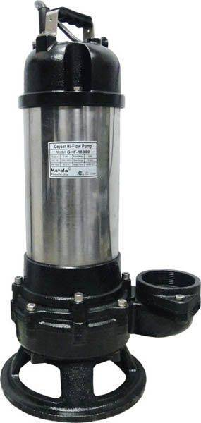 Geyser Hi-Flow Stainless Steel Pumps