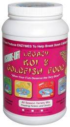 Microbe-Lift Legacy All Season Variety Mix Koi & Goldfish Food - 2 lbs. 4 oz.