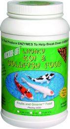 Microbe-Lift Legacy Fruits & Greens Koi & Goldfish Food - 4 lbs. 8 oz.