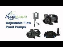 Aquascape AquaSurge PRO 2000-4000 Adjustable Flow Waterfall Pump