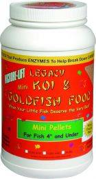 Microbe-Lift Legacy Mini Pellets Koi & Goldfish Food - 6 lbs.