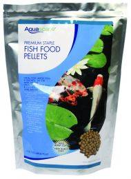 Aquascape Premium Staple Fish Food Pellets - Medium Pellets - (1) 1KG. BAG
