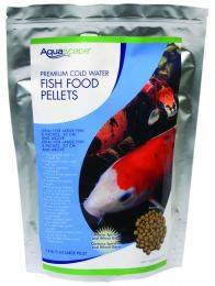 Aquascape Premium Cold Water Fish Food Pellets - Medium Pellets - (1) 1 kg Bag