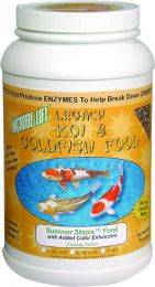 Microbe-Lift Legacy Summer Staple Koi & Goldfish Food - 2 lbs.